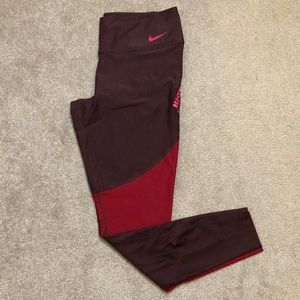 Nike Dry Fit Just Do It Workout Leggings Tights